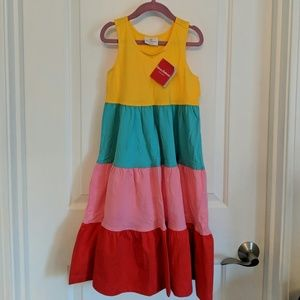 New Hanna Andersson Racerback Twirl Dress 130